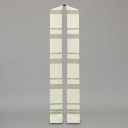 Gothic Stole 10601 - Cream  - 3