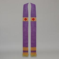 Gothic Stole 10608 - Purple  - 3