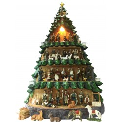 Christmas Tree Nativity Set...