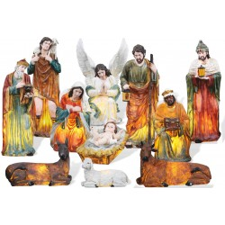 "11 Element Nativity Set 59""..."