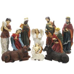 11 Element Nativity Set...