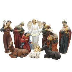 "11 Element Nativity Set 16""..."