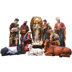 "11 Element Nativity Set 80""..."