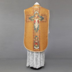 Roman chasuble 4530 - Gold