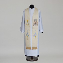 Marian Gothic Stole 7617 - Gold  - 2