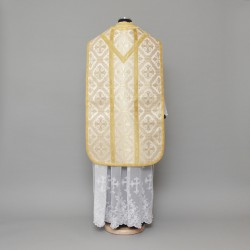Roman Chasuble 1796 - Cream