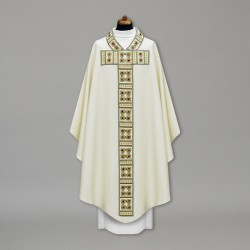 Gothic Chasuble 10921 - Cream