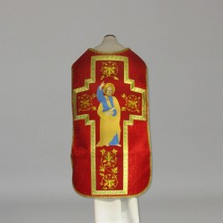 Roman Chasuble 10952 - Red  - 1