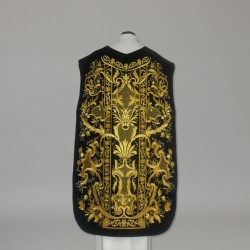 Roman Chasuble 10955 - Black