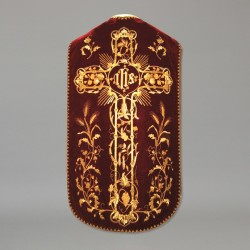Roman Chasuble 10957 - Red  - 1