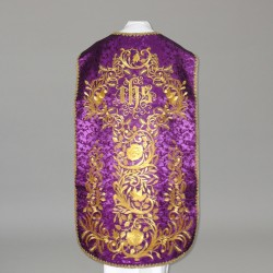 Roman Chasuble 10960 - Purple  - 2