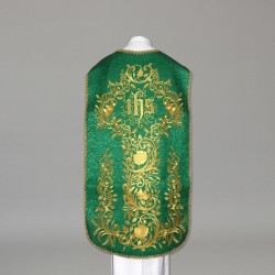 Roman Chasuble 10961 - Green  - 1