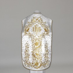 Roman Chasuble 10962 - White  - 5