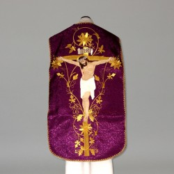 Roman Chasuble 10963 - Purple  - 6