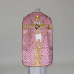 Roman Chasuble 10964 - Rose