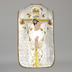 Roman Chasuble 10965 - White  - 5
