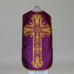 Roman Chasuble 10966 - Purple
