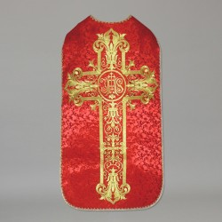 Roman Chasuble 10967 - Red