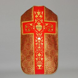 Roman Chasuble 10968 - Red  - 2