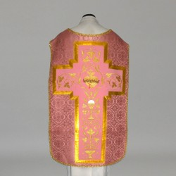 Roman Chasuble 10969 - Rose  - 3