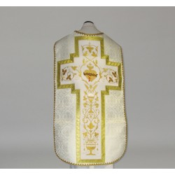 Roman Chasuble 10970 - Cream