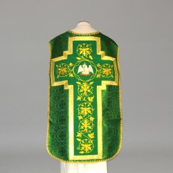 Roman Chasuble 10975 - Green