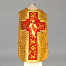 Roman Chasuble 10981 - Gold
