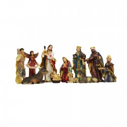 11 Element Nativity Set 6''...