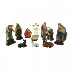 11 Elements Nativity Set...