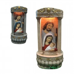 Holy Family Fountain 26'' -...