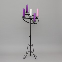 2'' Angled Advent Candle Holder 11087  - 1