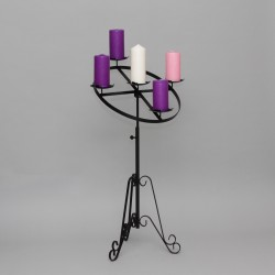 3'' Angled Advent Candle Holder 11148  - 1