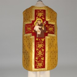 Roman Chasuble 11189 - Gold  - 2