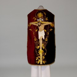 Roman Chasuble 11190 - Red  - 1