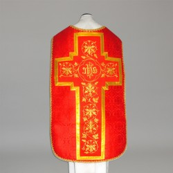 Roman Chasuble 11191 - Red  - 2