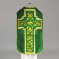Roman Chasuble 11192 - Green  - 5