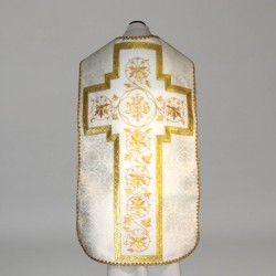 Roman Chasuble 11193 - Cream