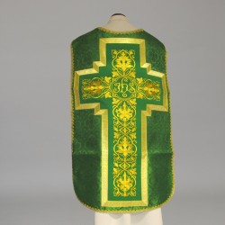 Roman Chasuble 11195 - Green  - 1