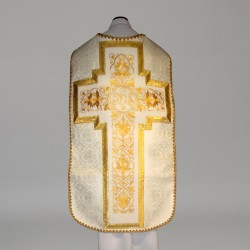 Roman Chasuble 11196 - Cream