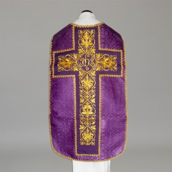Roman Chasuble 11197 - Purple  - 1