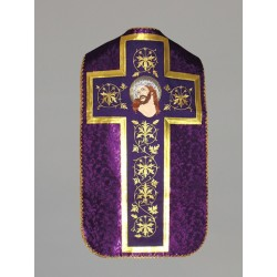 Roman Chasuble 11198 - Purple