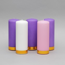 3'' x 8'' Advent candles