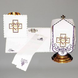 Chalice Linen Set with Ciborium Veil 11284  - 1