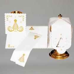 Chalice Linen Set with Ciborium Veil 11287  - 1