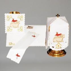 Chalice Linen Set with Ciborium Veil 11288  - 1