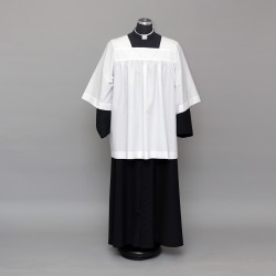 Altar server cassock and  gathered style cotta 2498  - 1