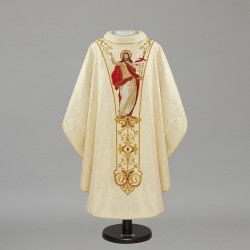 Gothic Chasuble 12070 - Cream