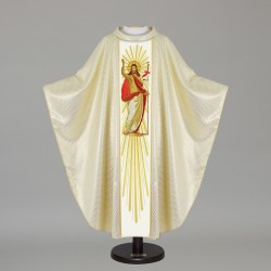 Gothic Chasuble 12074 - Cream