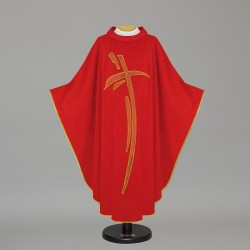 Gothic Chasuble 7445 - Red