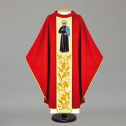 Gothic Chasuble 12132 - Red